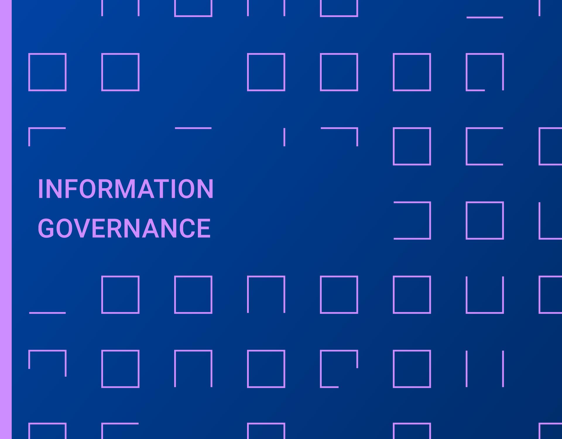Rapporto Information Governance 2019 - Pronti a spiccare il volo?